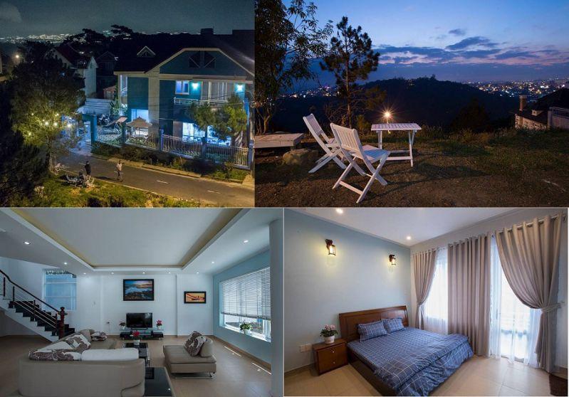 Hoa Quỳnh 1 villa - biệt thự nghỉ dưỡng Đà Lạt cực kỳ đẹp và chất lượng