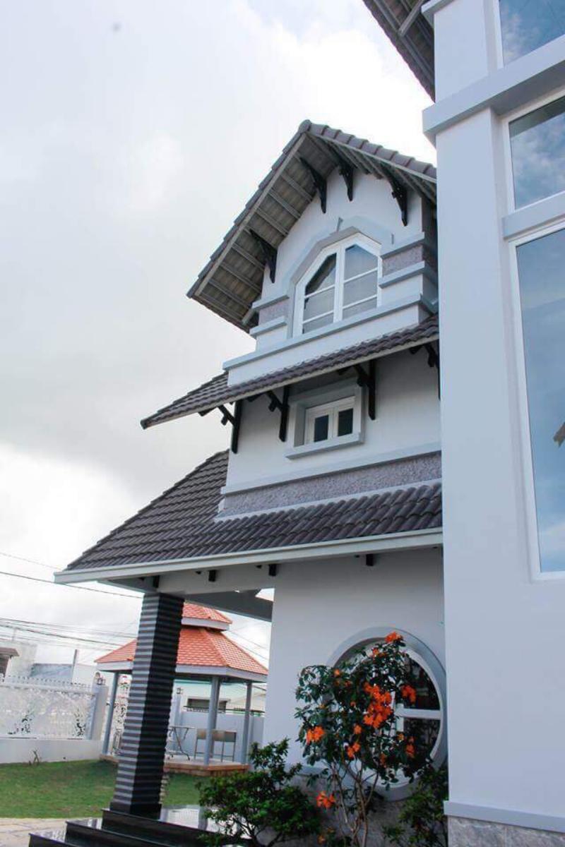 Phong cách kiến trúc kiểu tân cổ điển sang trọng của Mai Xuân Thưởng Villa
