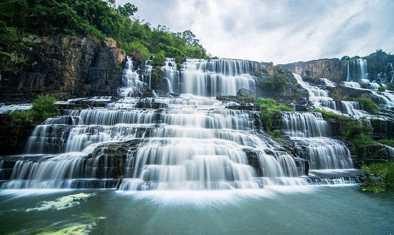 Pongour Waterfall - Nam Thien De Nhat waterfall - 3 waterfalls tour in dalat