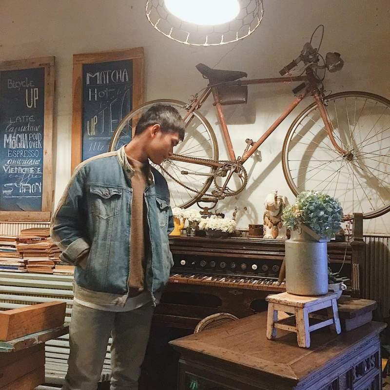 Quán Bicycle Up Cafe ở tp. Đà Lạt