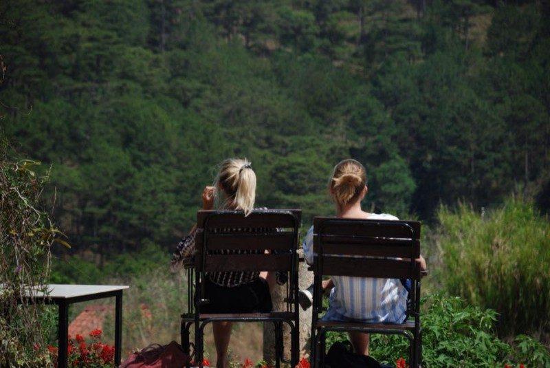Quán Cafe Chồn Trại Hầm là nơi tốt để tận hưởng bầu không khí thanh bình của Tp. Đà Lạt