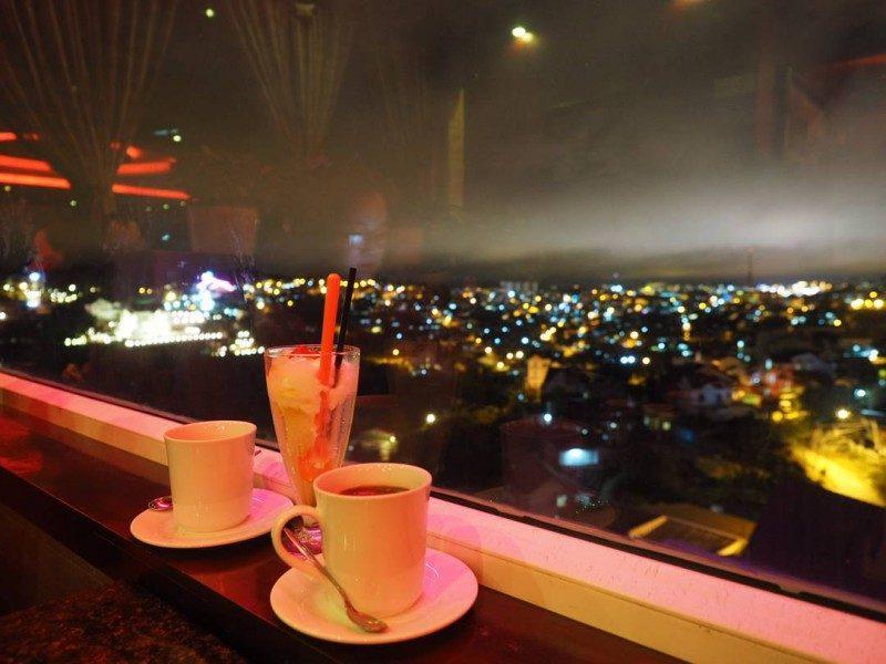 một trải nghiệm tuyệt vời khi ở Dalat Nights Coffee