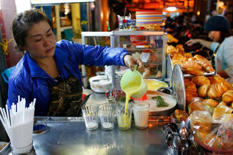 Quán Hoa sữa đậu nành nổi tiếng ở Đà Lạt