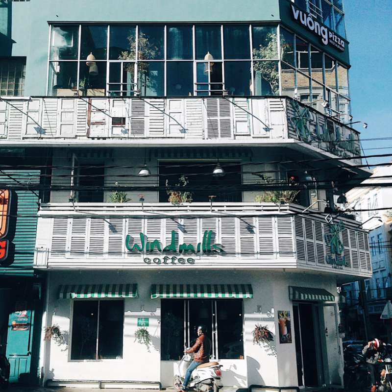 Một cơ sở của chuỗi Windmills cafe ở Tp Đà Lạt