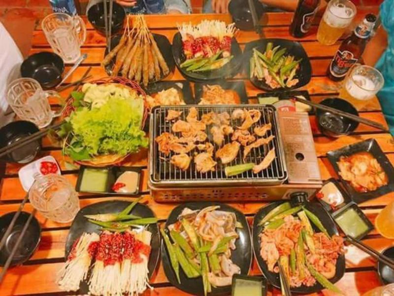 Một bữa ngon tại Quán nướng BBQ No. 1 ở tp Đà Lạt
