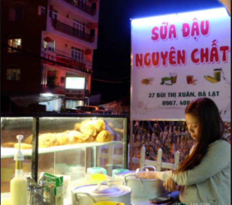 Quán sữa đậu nành 37 Bùi Thị Xuân ở tp Đà Lạt