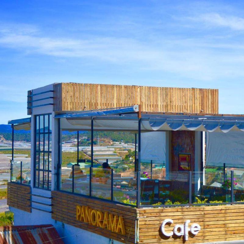 View 360 độ cùng Panorama Cafe ở Tp. Đà Lạt