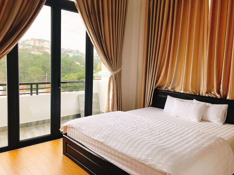 Không gian các phòng ngủ bên trong Windy Villa ở Đà Lạt