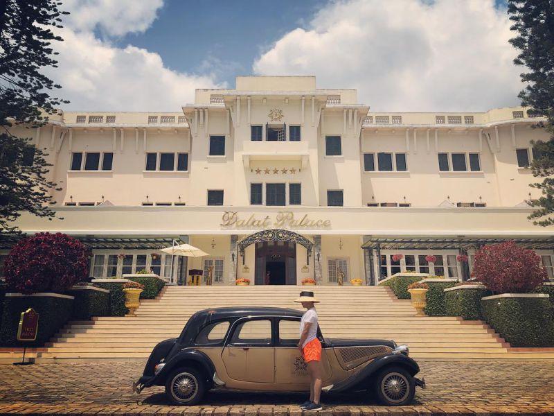 Khung cảnh bên ngoài Dalat Palace Henritage Luxury