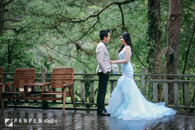 chụp ảnh cưới Đà Lạt - ngoại cảnh