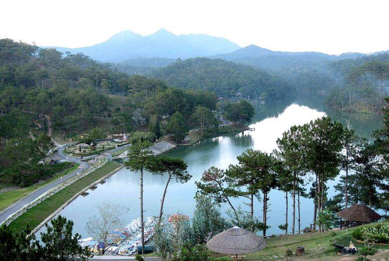 Thung lũng tình yêu tại Đà Lạt vào tháng 9