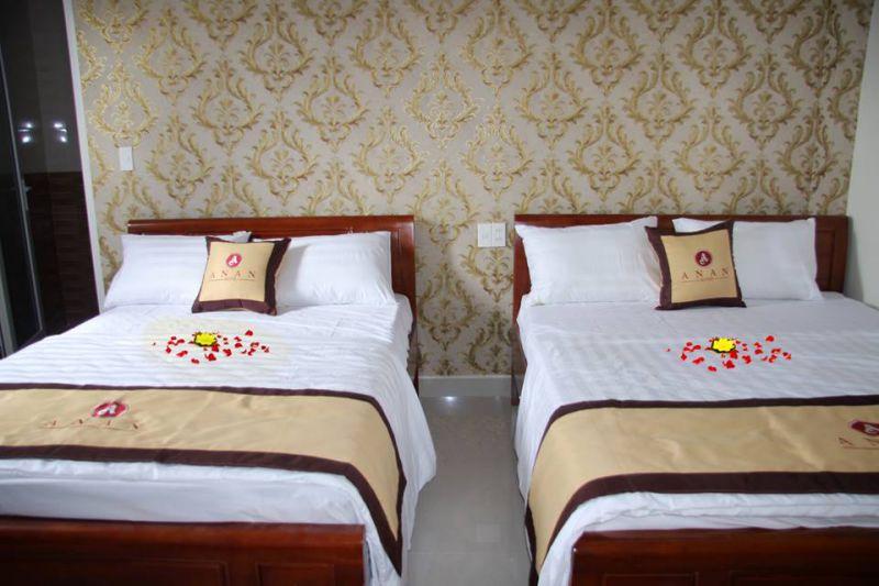 An An Hotel luôn tận tâm trong khâu chuẩn bị trang trí phòng