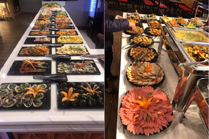 Đồ ăn ngon hấp dẫn tại Quán HAI CÒN BBQ Buffet ở tp Đà Lạt