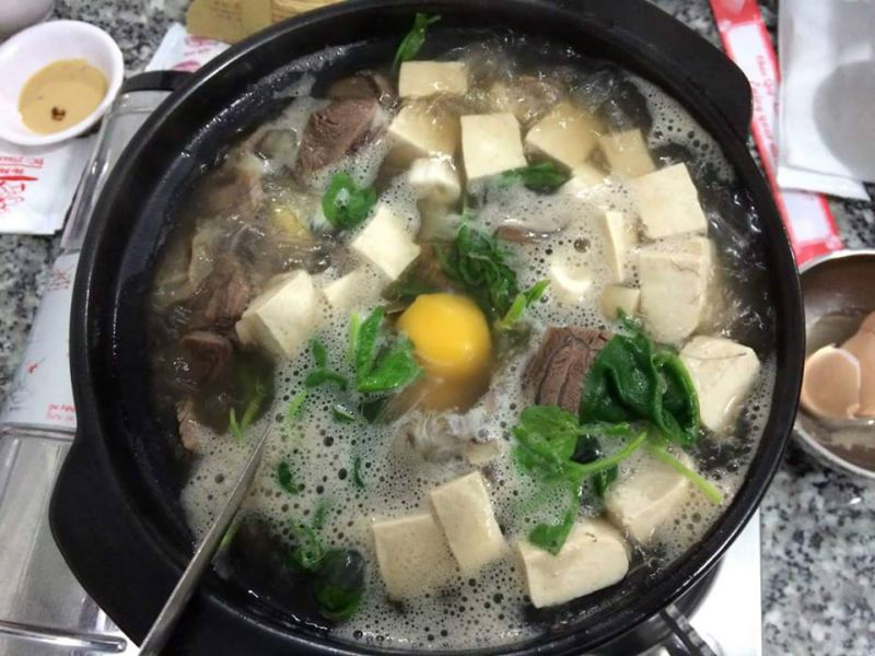 Món lẩu bò Tiềm Yerson khá ngon ở Đà Lạt