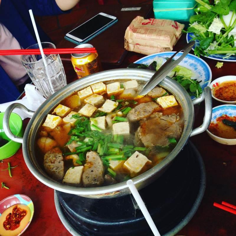 Món Lẩu bò Đà Lạt - quán lẩu Thanh Tâm