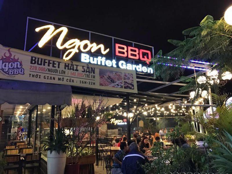 Quán NGON BBQ - Buffet Garden ở tp Đà Lạt