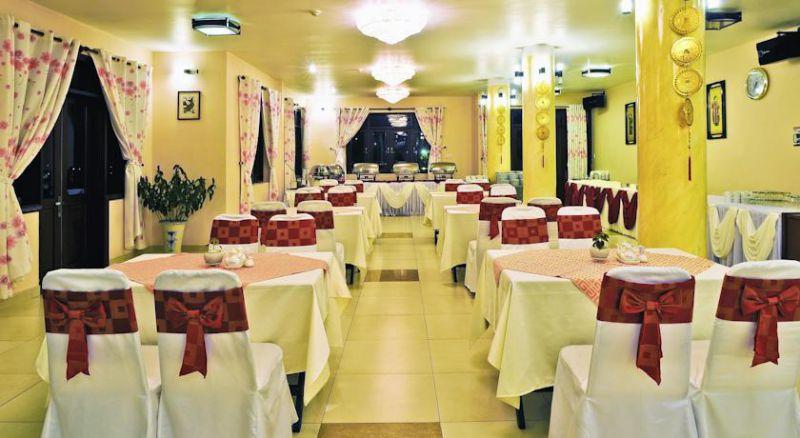 Nhà hàng bên trong khách sạn Kỳ Hòa tp Đà Lạt