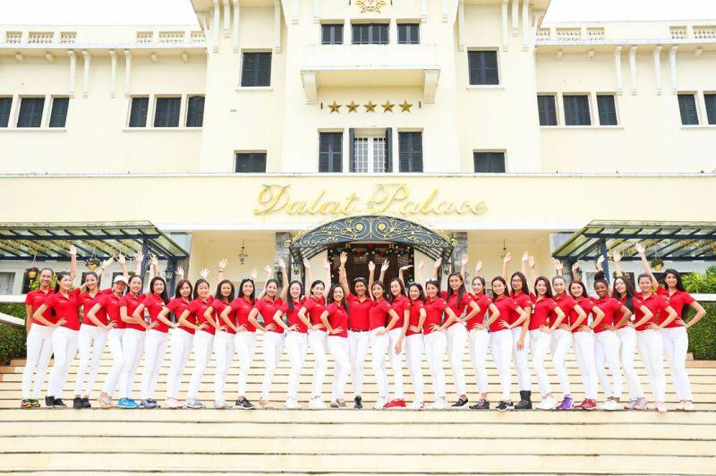 Đội ngủ nhân viên khách sạn Dalat Palace Henritage Luxury