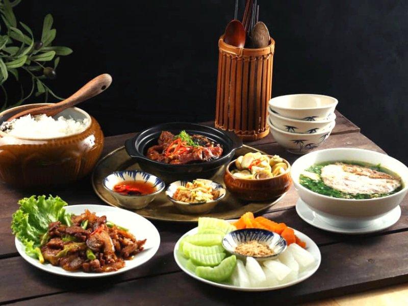 Quán ăn trưa ở Đà Lạt