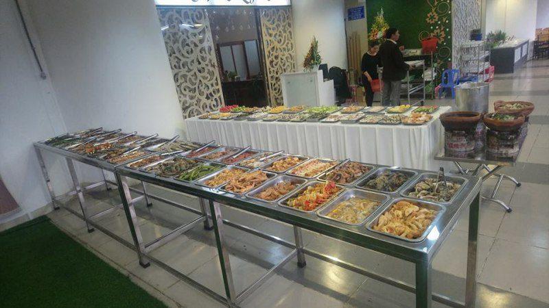 Đồ ăn ở Quán Buffet Nướng TÁM ở tp Đà Lạt
