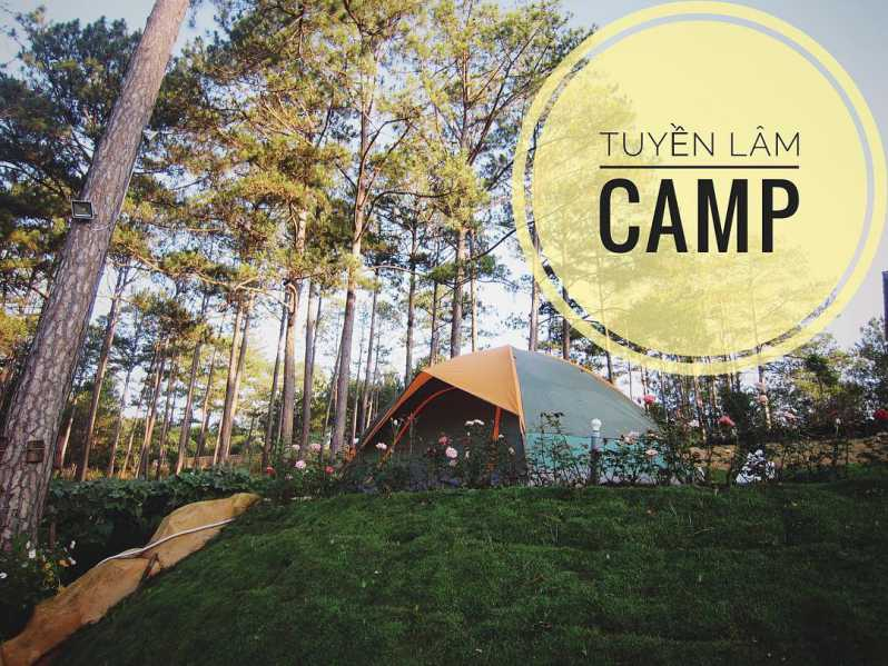 Trải nghiệm cắm trại bên Hồ Tuyền Lâm ở Rừng lá phong ở Đà Lạt