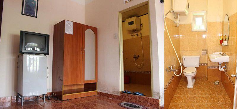 Khách sạn Hải Quyên ở Đà Lạt có tiện nghi khá đầy đủ