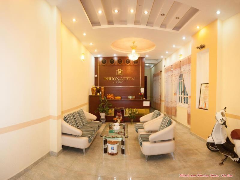 Không gian bên trong Khách sạn Phương Uyên ở tp Đà Lạt