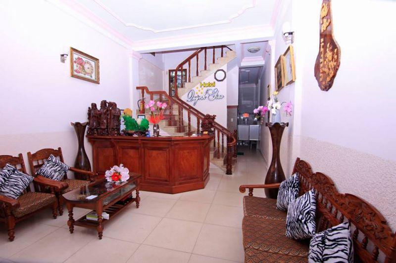 Không gian bên trong Khách sạn Quỳnh Giao ở Đà Lạt