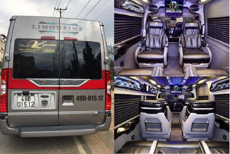 Vy Vân Limousine - một nhà xe Limousine nổi tiếng ở Đà Lạt