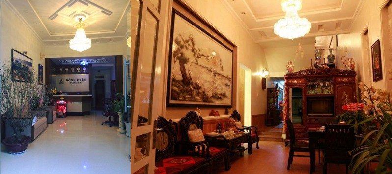 Không gian bên trong khách sạn Đăng Uyên ở Đà Lạt