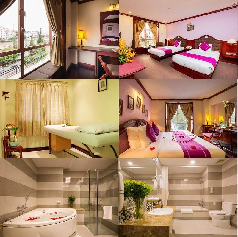 Không gian bên trong Khách sạn Golf 3 ở Đà Lạt