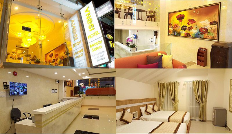 Không gian bên trong Khách sạn Isana ở Đà Lạt