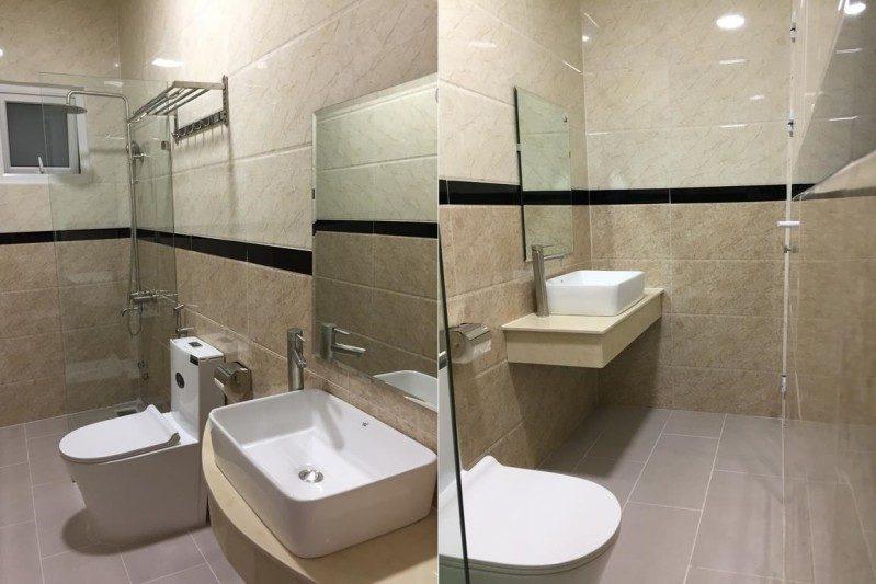 Không gian các phòng nghỉ bên trong khách sạn Lam Anh ở Đà Lạt