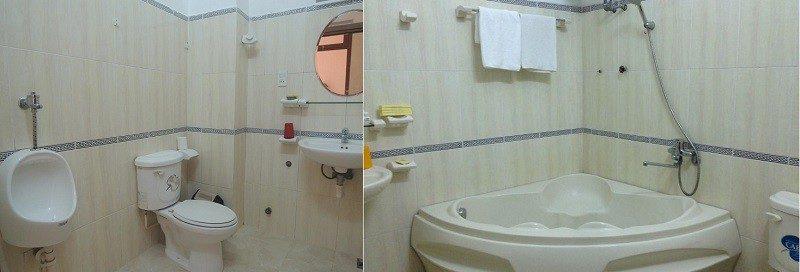 Khách sạn Nam Quang ở Đà Lạt được trang bị tiện nghi khá đầy đủ