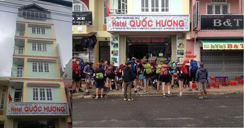 Khách sạn QUốc Hương ở Đà Lạt - Quoc Huong Hotel Dalat