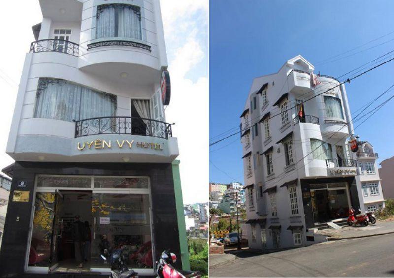 Khách sạn Uyên Vy ở Đà Lạt - Uyen Vy Hotel Dalat
