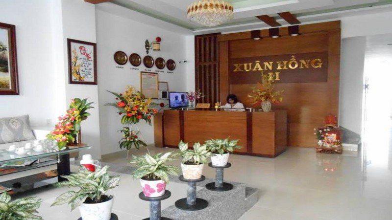 Phòng khách của Khách sạn Xuân Hồng 2 ở Đà Lạt