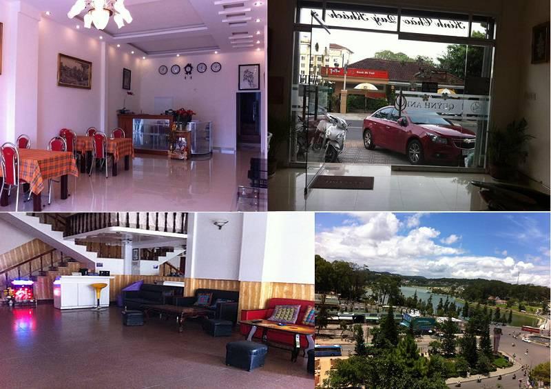 Khách sạn Quỳnh Anh ở Đà Lạt nằm ngay trung tâm, gần hồ Xuân Hương