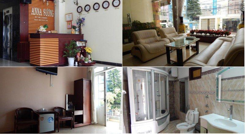 khách sạn Anna Sương ở Đà Lạt