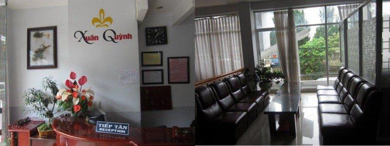 Không gian bên trong Khách sạn Xuân Quỳnh ở Đà Lạt