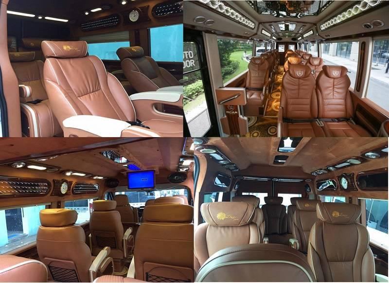 Hình ảnh xe Cúc Tùng Limousine từ Nha Trang đi Đà Lạt