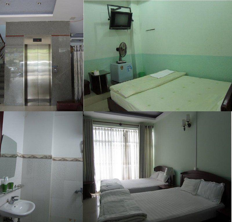 Tiện nghi khá đầy đủ bên trong Khách sạn Xuân Quỳnh ở Đà Lạt