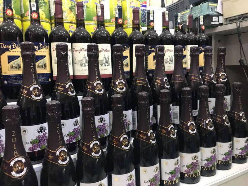 Rượu vang Đà Lạt (ảnh sưu tầm FB)