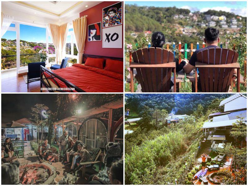 hostel đà lạt view thung lũng