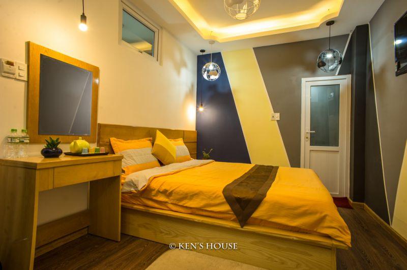 phòng nghỉ ở Ken's house khá đẹp và sang trọng