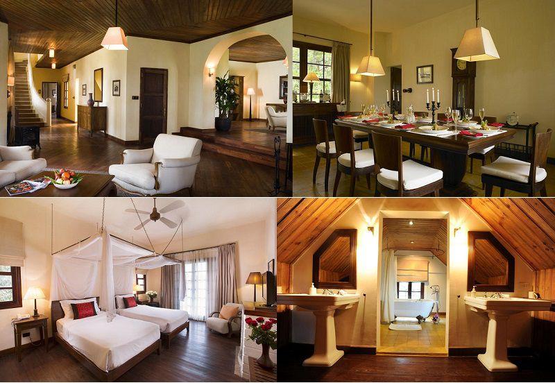 Không gian và các phòng nghỉ bên trong Resort Đà Lạt Ana Mandara du lịch