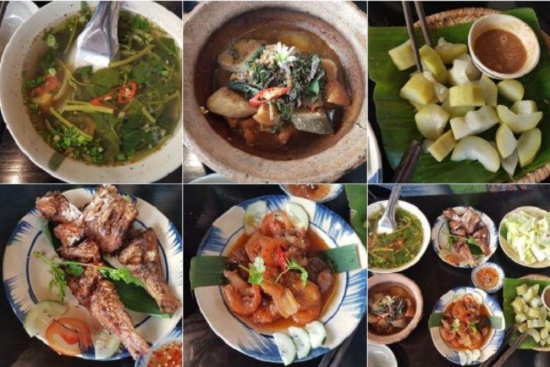 Cơm lá chuối món ăn dân dã tuyệt vời cho bữa cơm gia đình tại Đà Lạt