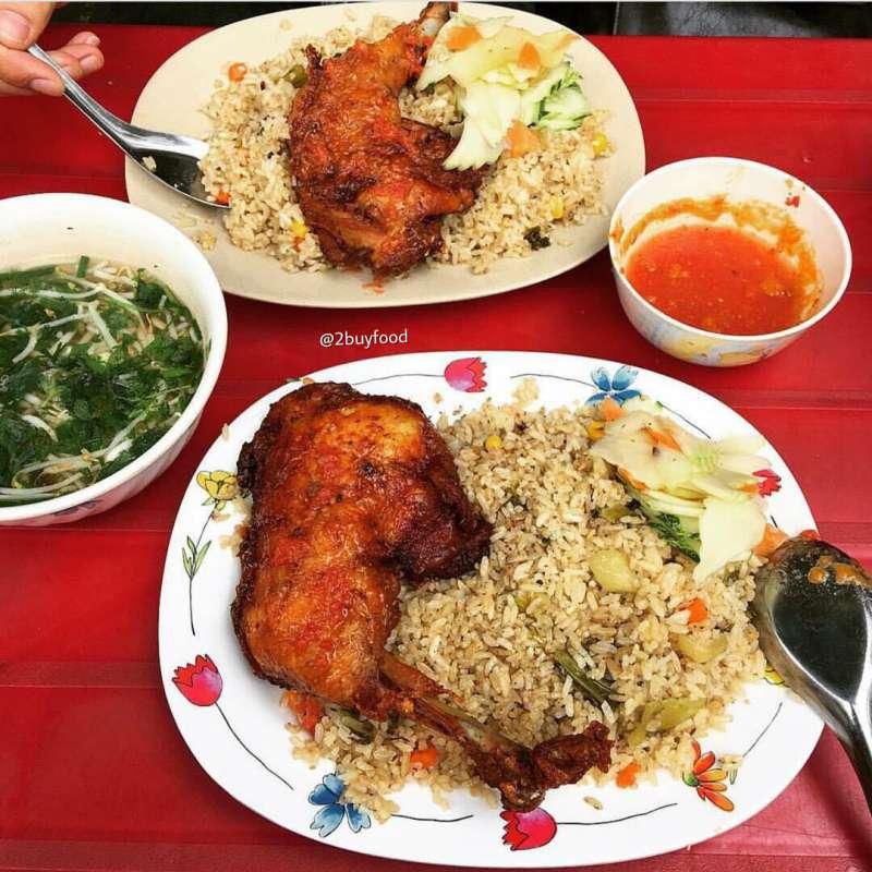 Món cơm gà Hải Phan Rang