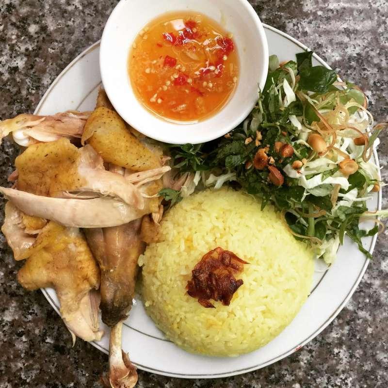 Quán cơm gà Sơn Kỳ ở Đà Lạt