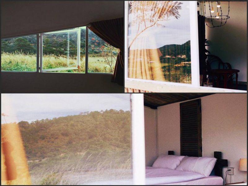 Rustic minimalism room tại The Wider Nest homestay đà lạt